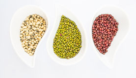 Black Eyed Peas, Mung, Azuki Bean II Royalty Free Stock Photography