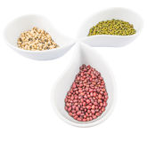 Black Eyed Peas, Mung, Azuki Bean III Royalty Free Stock Images