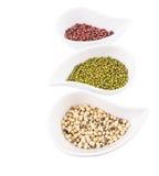 Black Eyed Peas, Mung, Azuki Bean V Stock Image