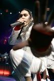 Black Eyed Peas se realiza en concierto imagen de archivo