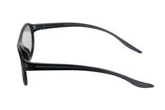 Black eyeglasses Stock Photo