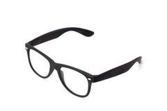 Black eyeglasses Royalty Free Stock Photos