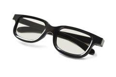 Black eyeglasses Stock Image