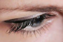 Black eyelash Royalty Free Stock Images