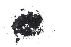 Black eyeshadows Stock Photos