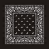 black för 2 bandana Royaltyfria Bilder