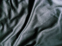 Black fabric Stock Photography