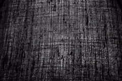 Black Fabric. Black silk fabric, ideal as background Stock Images