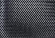 Black fabric background. Close up of plane carpet black texture Stock Photos