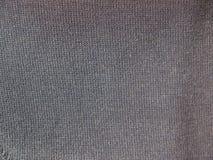 Black fabric background Stock Photo