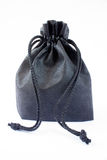 Black  fabric bag Royalty Free Stock Photography