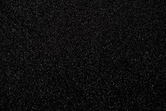 Black fabric with brocade Royalty Free Stock Image