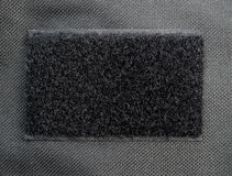 Black fabric felt texture and background.  Royalty Free Stock Images