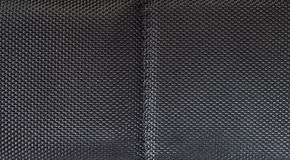 Black fabric grid texture Royalty Free Stock Photos