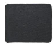 Black fabric isolate on white Stock Photos