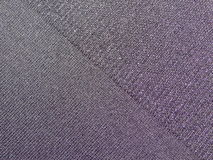 Black fabric Stock Photography