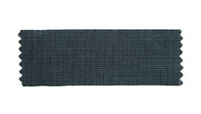 Black Fabric Sample Stock Image