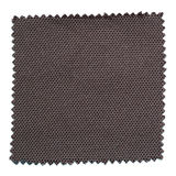 Black fabric swatch samples isolated on white. Background stock photo