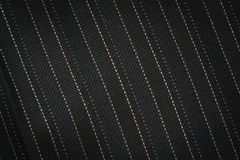 Black fabric textile background Royalty Free Stock Images
