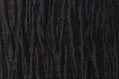 Black fabric texture Royalty Free Stock Photos
