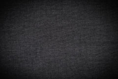 Black Fabric Texture Background / Black Fabric Texture / Black Fabric Texture of Silk as Background Royalty Free Stock Photography