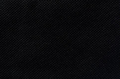 Black fabric texture background. Black nonwoven fabric texture background Stock Photography