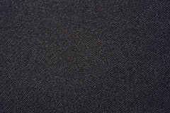 Black fabric texture. Close-up abstract dark black fabric background Stock Photos