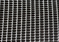 Black fabric texture closeup background Royalty Free Stock Photos