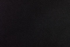 Black fabric texture detail Stock Photography