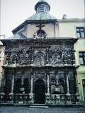 Black facade Royalty Free Stock Photos