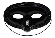 Black facial mask Stock Photography