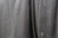 Black fake dirty leather texture stock image
