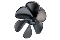 Black Fan Propeller Royalty Free Stock Photography