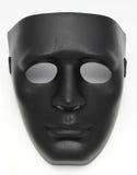 Black Fancy Mask. On White background Royalty Free Stock Image