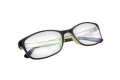 Black fashion glasses on white Royalty Free Stock Image