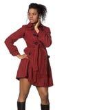 Black Fashion Model Stock Photo
