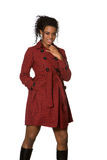 Black Fashion Model Royalty Free Stock Image