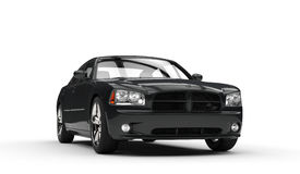 Black Fast Car Royalty Free Stock Images
