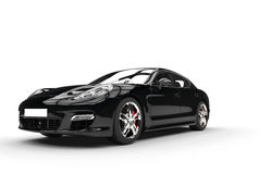 Black Fast Car - Studio Shot Stock Photography