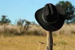 Black Felt Cowboy Hat Royalty Free Stock Photos