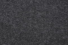 Black felt cloth Stock Image