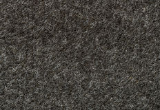 Black felt texture background. Close up of black felt texture background Stock Photo
