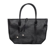 Black female bag Royalty Free Stock Images