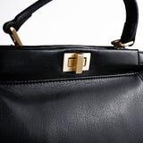 Black female bag Royalty Free Stock Images