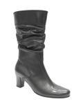 Black female boot Stock Images