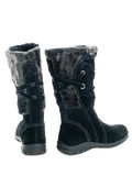 Black female boots Royalty Free Stock Photos