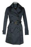 Black female coat Royalty Free Stock Images