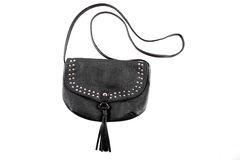 Black female purse Stock Photos