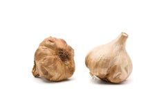 Black fermented garlic Stock Images
