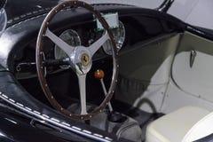 Black 1952 Ferrari Inter Spyder Barchetta Stock Photo